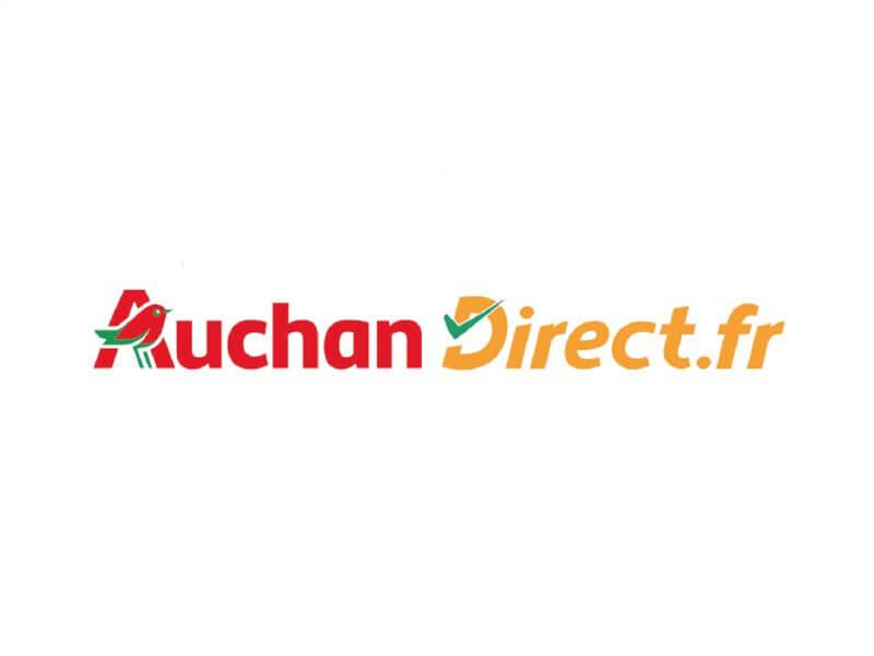 agence kayak communication web lille nord auchan direct logo