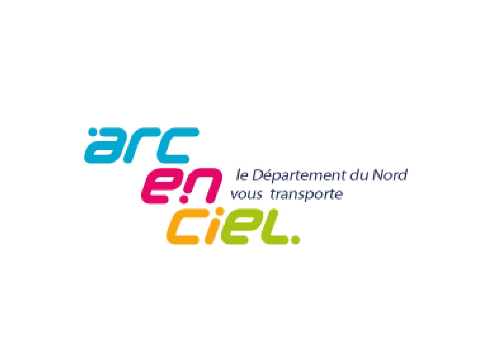 agence kayak communication web lille nord arc en ciel transport logo